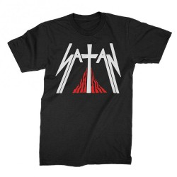 Satan - Kiss of Death - T-shirt (Men)