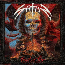 Satan - Trail Of Fire – Live in North America - DOUBLE LP GATEFOLD COLOURED