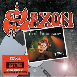 Saxon - Live In Germany 1991 - CD