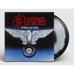 Saxon - Wheels Of Steel - LP COLOURED