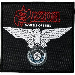 Saxon - Wheels Of Steel - Patch