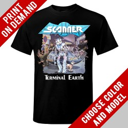 Scanner - Terminal Earth Cover - Print on demand