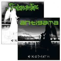 "Schismopathic - Antigama - Eko-Death - 7"" vinyl"