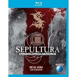 Sepultura & Les Tambours Du Bronx - Metal Veins - Alive At Rock In Rio - BLU-RAY