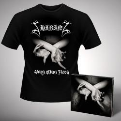 Shining - X - Varg Utan Flock - CD DIGIPAK + T-shirt bundle (Men)
