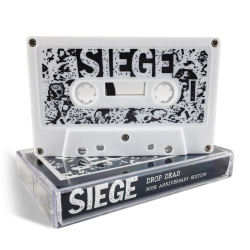 Siege - Drop Dead - 30th Anniversary Edition - CASSETTE