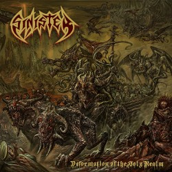 Sinister - Deformation Of The Holy Realm - LP Gatefold Coloured