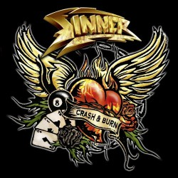 Sinner - Crash & Burn LTD Edition - CD DIGIPAK