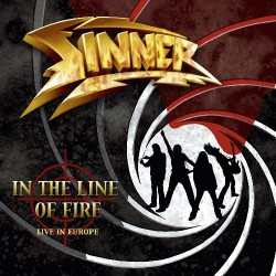 Sinner - In The Line Of Fire - CD