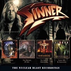 Sinner - The Nuclear Blast Recordings - 4CD