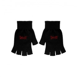 Slipknot - Logo - FINGERLESS GLOVES