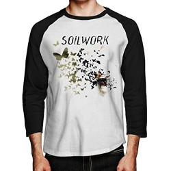 Soilwork - Natural Born Chaos - Baseball Shirt 3/4 Sleeve (Men)
