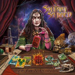 Solitary Sabred - By Fire & Brimstone - CD