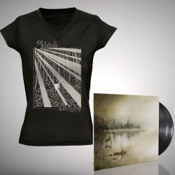 Solstafir - Berdreyminn - Double LP gatefold + T-shirt V-neck bundle (Women)