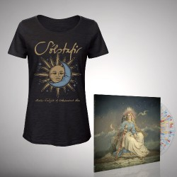 Solstafir - Bundle 10 - DOUBLE LP GATEFOLD COLOURED + T-SHIRT bundle (Women)