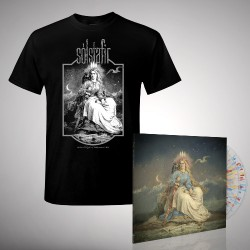 Solstafir - Bundle 9 - DOUBLE LP GATEFOLD COLOURED + T-SHIRT bundle (Men)