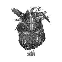 Solstafir - Icelandic Rock White - Serigraphy