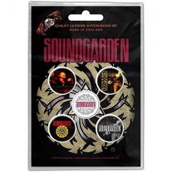 Soundgarden - Badmotorfinger - BUTTON BADGE SET