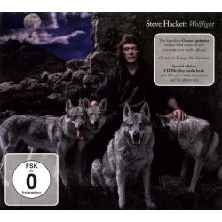 Steve Hackett - Wolflight - CD + Blu-ray digibook