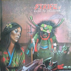 Strife - Back To Thunder - LP COLOURED