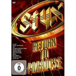 Styx - Return To Paradise - DVD