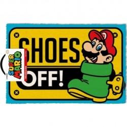 Super Mario - Shoes Off - DOORMAT