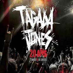 Tagada Jones - 20 ans d'ombre et de lumière - CD + DVD Digipak
