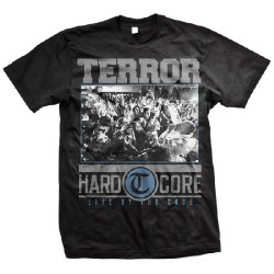 Terror - Hardcore (Black) - T-shirt (Men)
