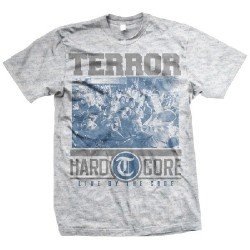 Terror - Hardcore (Ash Grey) - T-shirt (Men)