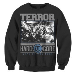 Terror - Hardcore (Black) - Sweat shirt (Men)