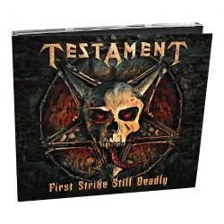 Testament - First Strike Still Deadly - CD DIGIPAK