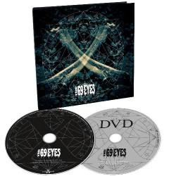 The 69 Eyes - X - CD + DVD Digipak