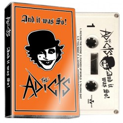 The Adicts - And It Was So! - CASSETTE COLOURED