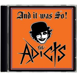 The Adicts - And It Was So! - CD