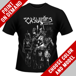 The Casualties - Chaos Sound - Print on demand
