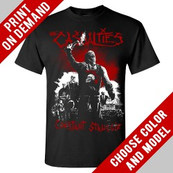 The Casualties - constant Struggle - Print on demand