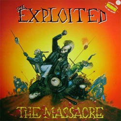 The Exploited - The Massacre - DOUBLE LP GATEFOLD COLOURED