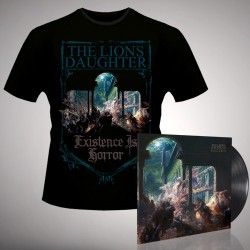 The Lion's Daughter - Existence Is Horror - LP gatefold + T-shirt bundle (Men)
