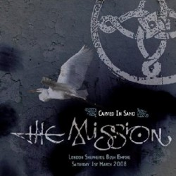 The Mission - Live: Carved In Sand - DOUBLE LP Gatefold