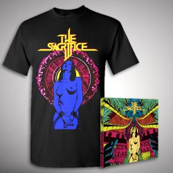 The Sacrifice - The Sacrifice - CD DIGIPAK + T-shirt bundle (Men)