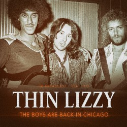 Thin Lizzy - The Boys Are Back In Chicago 1976 - CD
