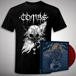 Tombs - Bundle 4 - DOUBLE LP GATEFOLD COLOURED + T-SHIRT bundle (Men)