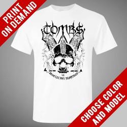 Tombs - Desolation Vampires (White) - Print on demand