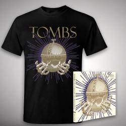 Tombs - Monarchy Of Shadows - CD DIGIPAK + T-shirt bundle (Men)