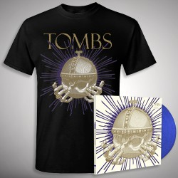 Tombs - Monarchy Of Shadows - LP gatefold coloured + T-shirt bundle (Men)