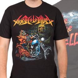 Toxic Holocaust - Ride Like Hell - T-shirt (Men)