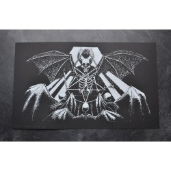 Tsjuder - Demonic Death Worship (from Antiliv) - Screen print