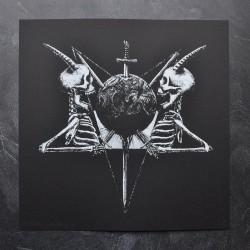 Tsjuder - Demonic Supremacy (from Antiliv) - Screen print