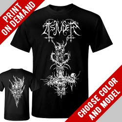 Tsjuder - Inverted Cross - Print on demand
