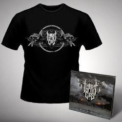 Twilight Of The Gods - Fire on the Mountain - CD DIGIPAK + T-shirt bundle (Men)